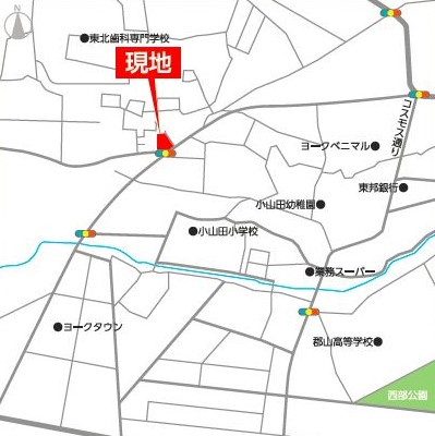 片平 地図